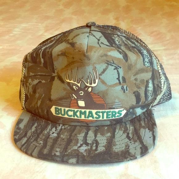 d5140d84df0 Beautiful Buck Masters 🦌Snapback Hat   Vintage💥.  M 5b454049619745334429f803